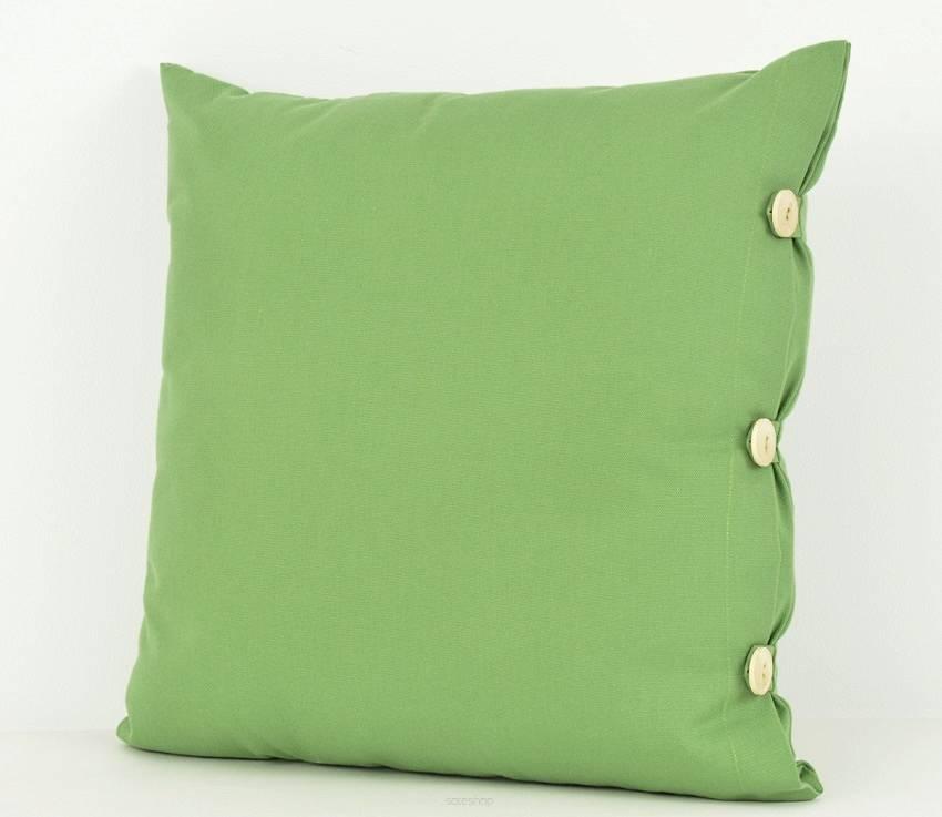 Poduszka Dekoracyjna 50x50cm Zielony Mix Kolorów
